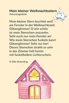 Advent gedicht forster