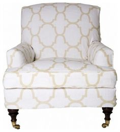 Marrakesh Slipper Chair by Windsor Smith Home traditional armchairs