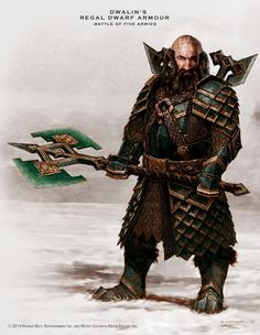 dwalin armor concept from the Hobbit