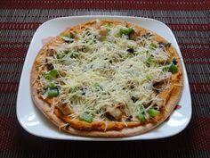 As Good As Gluten: #GF Hummus Pizza