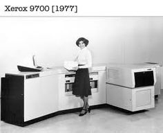 1970s Xerox copiers were not exactly desktop! This is like first one I ever used in law office and it sorted the copies wow!