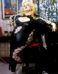 Edith Massey (as Aunt Ida) from John Waters' Female Trouble, 1974 #EdithMassey #AuntIda #JohnWaters #FemaleTrouble