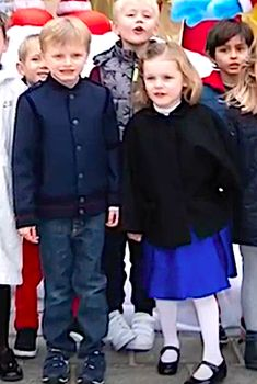 Princess Charlene and Prince Albert's twins, Hereditary Prince Jacques and Princess Gabriella turned five. Princess Stephanie, Princess Estelle, Princess Charlene, Princess Madeleine, Crown Princess Victoria, Andrea Casiraghi, Charlotte Casiraghi, Albert Von Monaco, Prince Albert Of Monaco