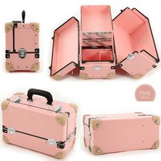 Product made in specifications compact small size type nail specialist bag nail storing bag carrying around two steps tray hardware light weight Japan present medium size white red bluish green Kuromizu color pink for the make box pro cosmetics box large Makeup Box Case, Makeup Storage Case, Project Mc Square, Make-up Box, Kosmetik Box, Vanity 6, Cute Luggage, Kids Makeup, Home Design