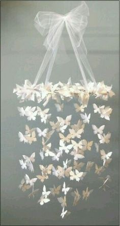 Mobile Paper Butterfly