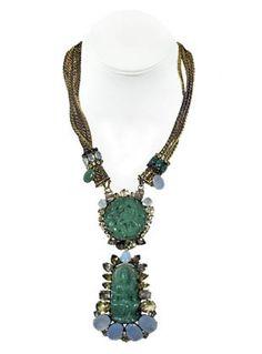 Incredible iradj moini necklace.