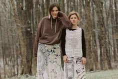 New York Fashion, High Fashion, Fashion Beauty, Eckhaus Latta, Editorial Fashion, Fendi, Knitwear, Women Wear, Spring Summer