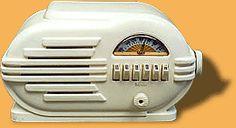Belmont Radio - 1940 Art Nouveau, Art Deco, Transistor Radio, Antique Clocks, Tvs, Radios, Retro Vintage, Old Things, Technology