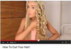How to Curl Your Hair: 10 Best YouTube Tutorials   Beauty High how to curl your hair!