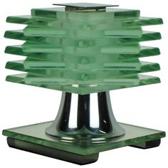 Art Deco Table Lamp Designed by Desny | From a unique collection of antique and modern table lamps at https://www.1stdibs.com/furniture/lighting/table-lamps/