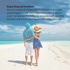 Enjoy Financial Freedom with Reliv!