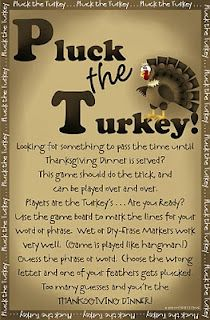 Thanksgiving fun- so many fun games, crafts and activities for Thanksgiving