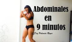 Abdominales en 9 minutos - Marcar abdomen - (Rutina 336) - Dey Palencia ...