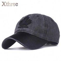 2cc70975f34 Xthree women baseball cap canada embroidery Letter snapback hat for men cap  casquette gorras  ballhatsforwomen