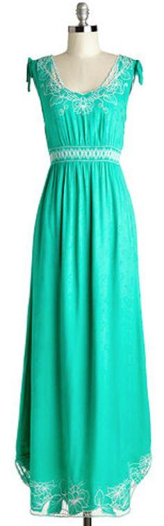 sleeveless #mint maxi dress http://rstyle.me/n/h79kmr9te
