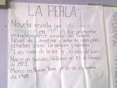 """Sesión 1 Español, 10 de marzo, Introducción al proyecto """"La Perla"""""""
