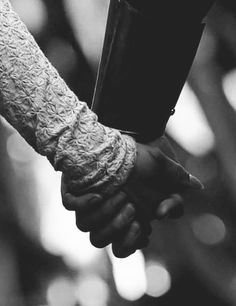 Holding hands gets familiar but never gets old.