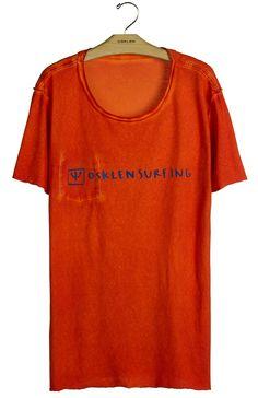 Osklen - T-Shirt Double Watercolour Surf Hand Mc - Osklen