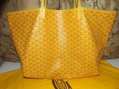 Goyard St Louis Tote Yellow picture