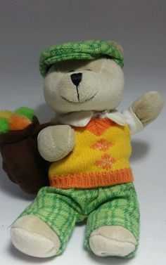 Starbucks Plush Golfer 50TH Edition Bearista Bear in Collectibles | eBay