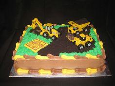 Easy Construction Cake