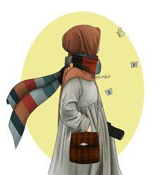 Drawing Artist, Drawing Sketches, Cute Kids Photography, Islamic Cartoon, Anime Muslim, Hair Sketch, Hijab Cartoon, Anime Poses, Anime Sketch