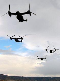 V-22B Ospreys