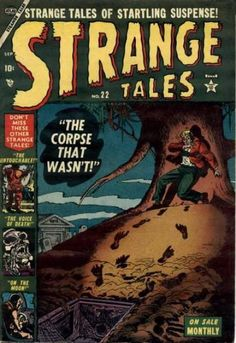 Strange Tales # 22 by Sol Brodsky Comic Book Characters, Comic Books, Comic Art, Marvel Masterworks, Jim Steranko, Tales Of Suspense, Tales From The Crypt, Strange Tales, Anthology Series