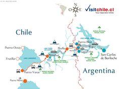 Cruce de lagos Andinos desde Puerto Varas a Bariloche. Lakes Crossing trip from Puerto Varas  Chile to Bariloche Argentina  http://www.visitchile.cl/crucedelagos.htm