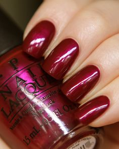 OPI Nordic Collection (release Fall/Winter 2014) - THANK GLÖGG IT'S FRIDAY!