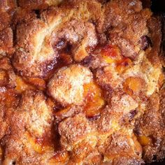 It\'s #NationalPeachCobblerDay! #homemade #homegrown #GF #glutenfree #yummy #april13 #peaches #Monday Have a great week!