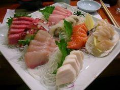 yum, especially the white tuna!