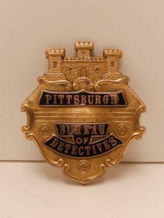 Pittsburgh Bureau of Detectives Badge 1930's 1940'S | eBay