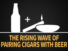 BEER AND CIGARS PAIRING