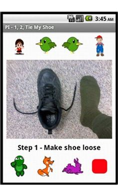 Learn to Tie Your Shoelace – Using Apps and Video Resources  from OT's with Apps. Pinned by SOS Inc. Resources @sostherapy.