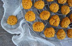 Vanilla&Staubzucker: Vegan pumpkin cookies – Biscotti vegani alla zucca