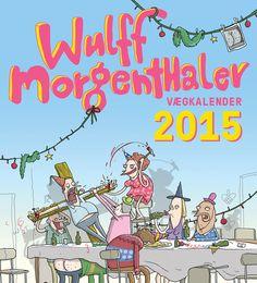 """Vægkalenderen fra Wulffmorgenthaler vil berige hver eneste måned af det herrens år 2015. Ved hver måneds begyndelse, vil du tænke: """"Er dette virkelig muligt. Hænger der seriøst humoristiske genialiteter af den kaliber lige dér på min væg?"""". Og ja, det gør der! Erstat billederne af familien med Wulffmorgenthalers vægkalender og vi lover, du kommer til at le hjerteligt på daglig basis i hele 2015."""
