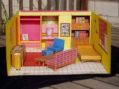 I loved playing with this! First Barbie house