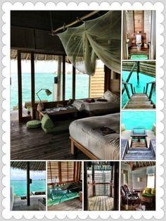 Villa living at Six Senses Laamu, Maldives