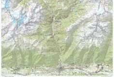 """Valmalenco Hiking Trails Map - Also available on """"Mappe d'Italia"""" the app for…"""