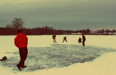 Hautahi Kingi: This photo was taken at Dryden Lake in upstate New York. We were ice-fishing in -20 degree Celsius weather and the fish weren't biting. We took out the cricket bat and roll the arm over for a few overs to warm up. Needless to say, the icy pitch didn't provide too much assistance for the bowlers. I am a New Zealander studying at Cornell University as a graduate student. My mates in the picture are Americans and Canadians who are slowly learning the subtleties of the beautiful…