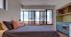 Nundah House   KO & Co Architecture Decor, Furniture, House, Windows, Home Decor, Bed