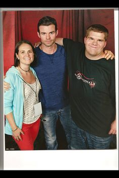 Me and Kait with Daniel Gillies