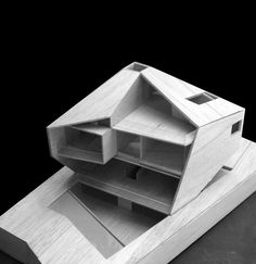 House Design in Singapore embodies the modern geometric architecture Folding Architecture, Architecture Model Making, Architecture Drawings, Concept Architecture, Contemporary Architecture, Interior Architecture, Installation Architecture, Architecture Diagrams, Architecture Portfolio