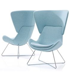 Orangebox Avi Chair on High Wire Base Frame