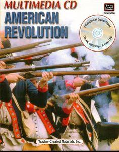 American Revolution - Educational Book & Disc, Multi-media Social Studies Guide #BookandCD