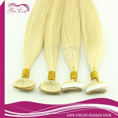 97.22$  Buy here - http://alib0d.worldwells.pw/go.php?t=32275380970 - 50%discountEmosa Tape Hair Extensions,Natural Human Hair Extensions,blonde color Silky Brazilian Virgin Hair,Remy Tape Skin Weft