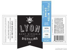 Lyon Full Moon Shine Corn Whiskey