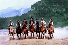 Les Sept Mercenaires - The Magnificent Seven Old Western Movies, Western Film, Horst Buchholz, Westerns, Robert Vaughn, Yul Brynner, The Magnificent Seven, Charles Bronson, Relationships