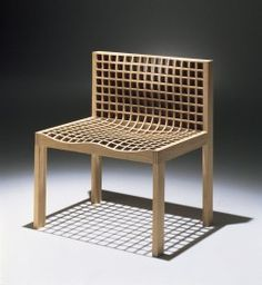 1999 Oak, walnut, ash  78 x 65 x 49 cm Cabinetmaker Gert Kjeldtoft Limited edition of 20/ wood type